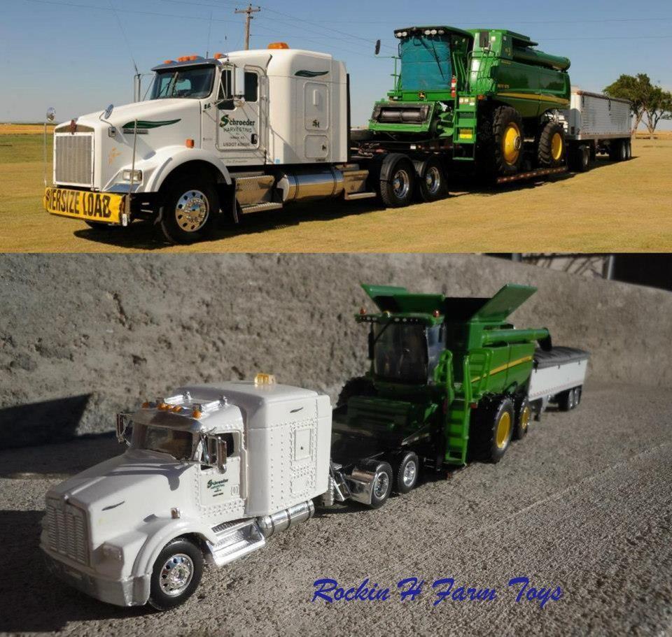 1 64 scale trucks and trailers - Diorama 1 64 Scale