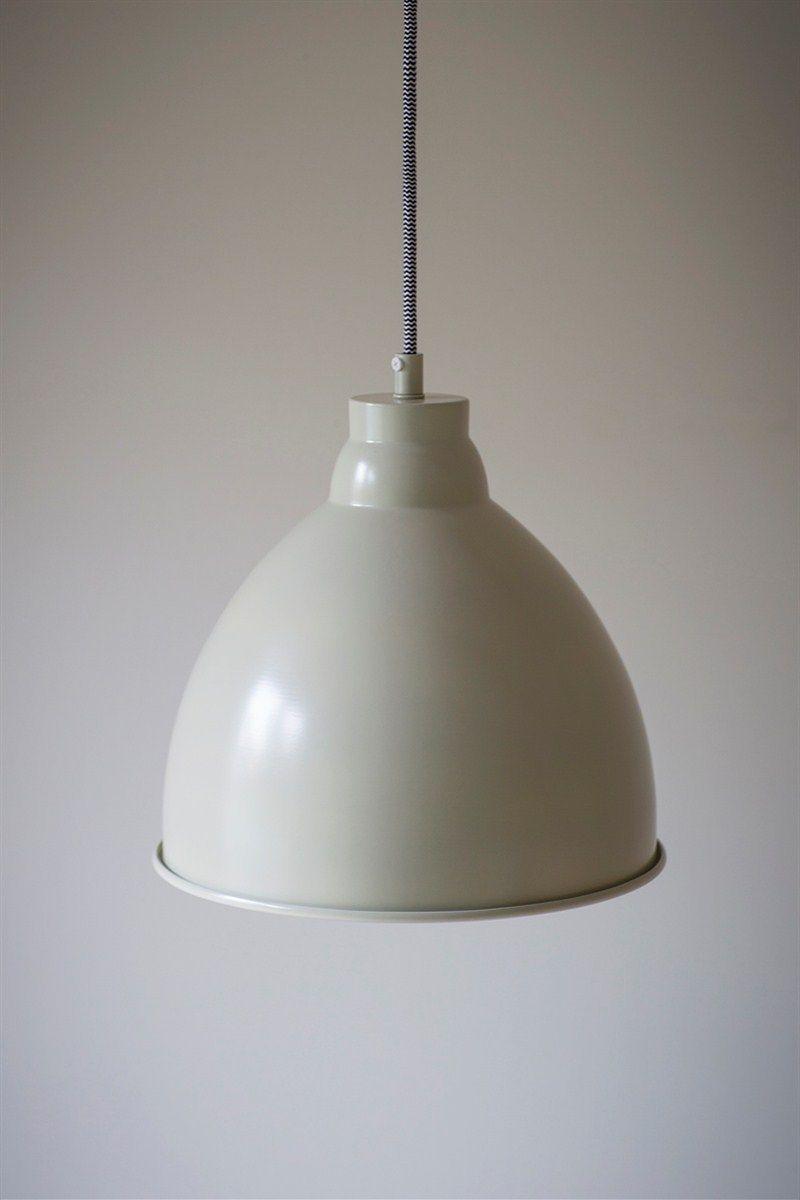 Harrow Pendant Light - Clay Powder Coated Steel Indoor Hanging Light ...