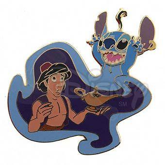 Aladdin and stitch