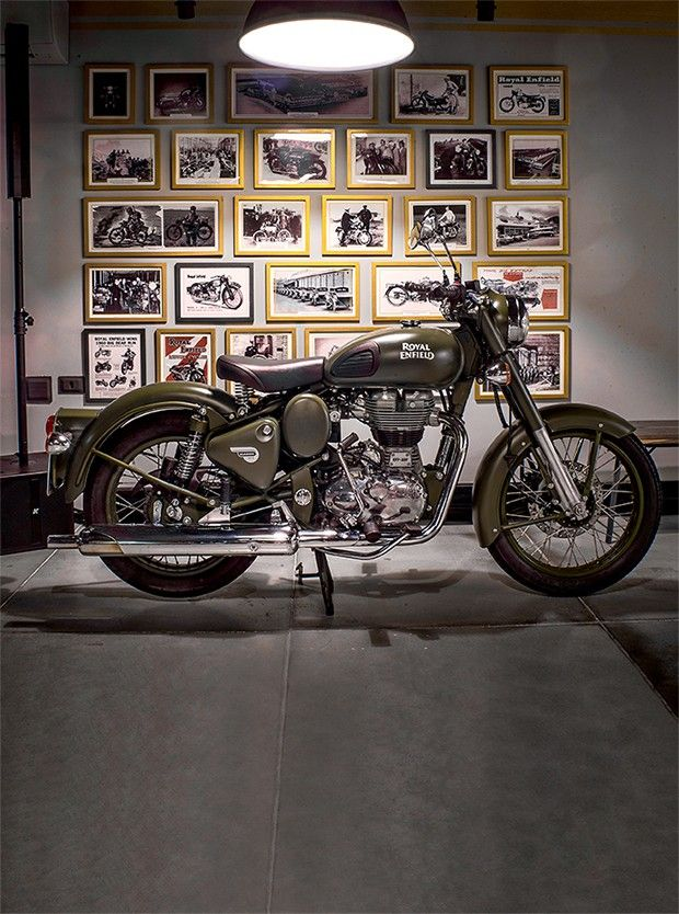 Photo of Royal Enfield Classic 500 has a classic look and simple mechanics