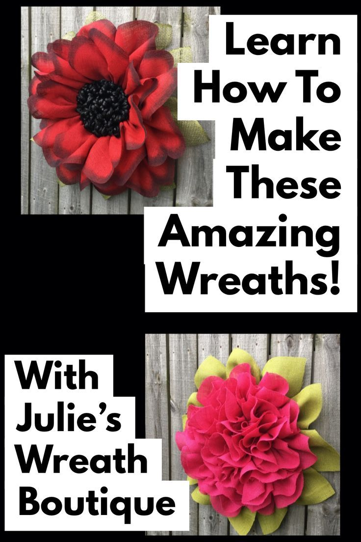 DIY Wreath Tutorial, Video Tutorial, Best Selling Wreaths, Burlap Wreaths, Home Decor, These are my premium tutorials that come with a membership to my private Facebook group to learn even more techniques. Want to expand your wreath making abilities? Purchase this tutorial and find out how. #julieswreathboutique #wreathmaker #wreathmaking #homedecor #wreaths