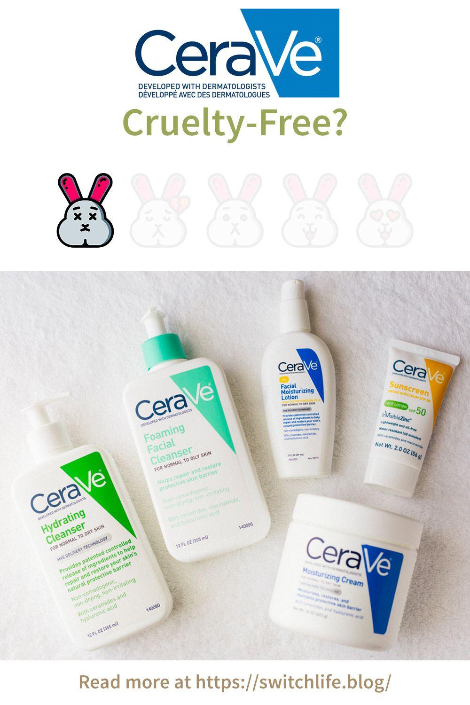 Is Cerave Cruelty Free Not Even Close Facial Sunscreen Moisturizer Cream Cruelty Free