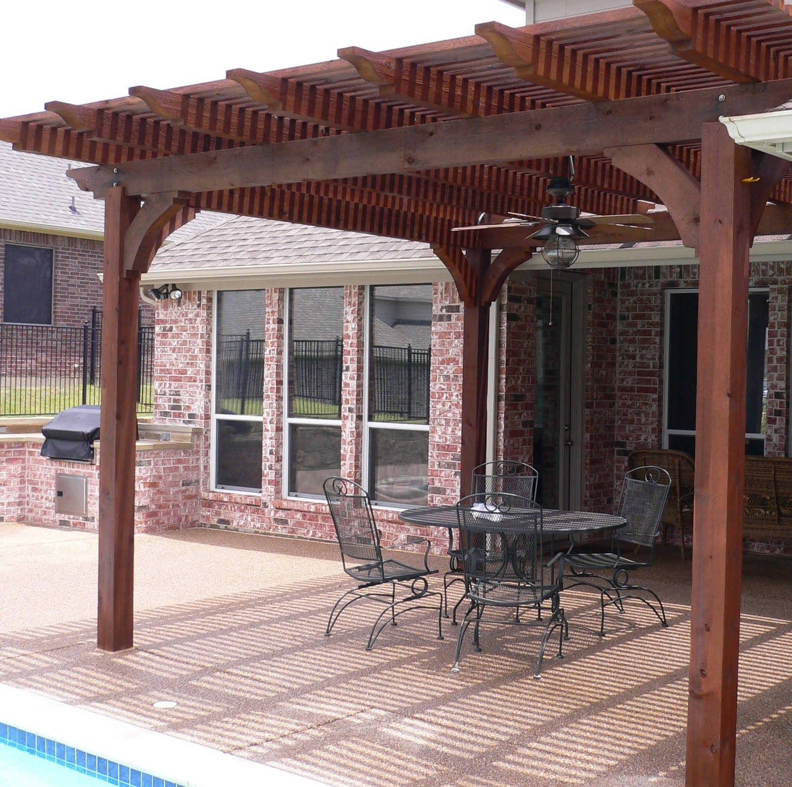 wooden cover for patio Liven Up Your Patio Wooden