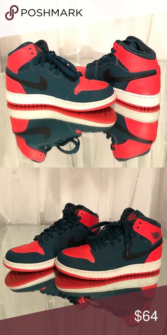 98b14f2245e7 Air Jordan 1 Retro High x Russell Westbrook Good condition  size 4.5 in  boys Jordan Shoes Sneakers
