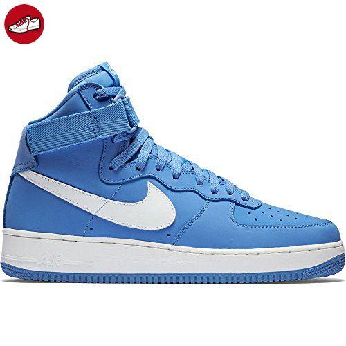 buy popular 1b48c 0be79 ... hot nike herren air force 1 hi retro qs handballschuhe blau weiß  university blue 6b1f0 4a487
