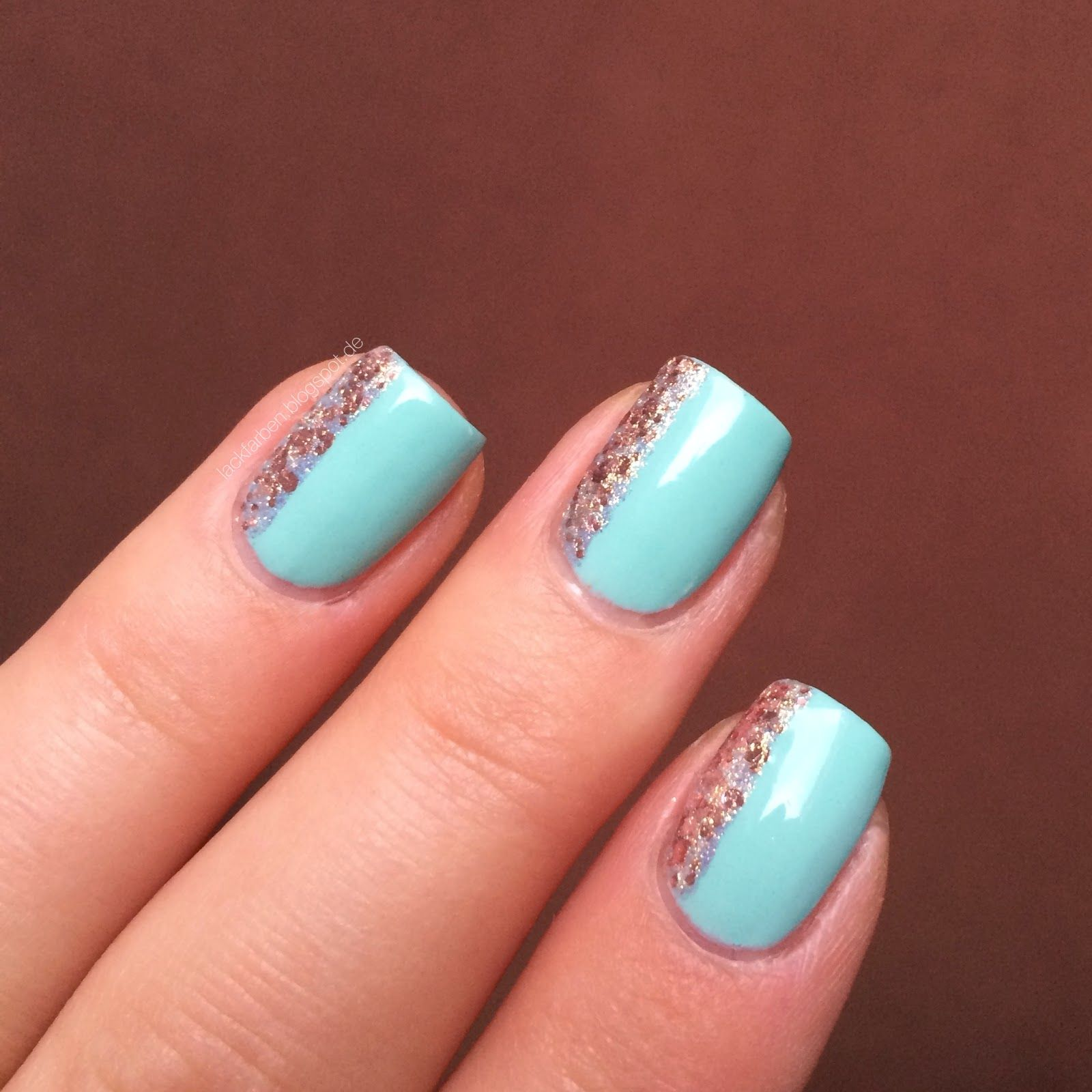 Essie - Mint Candy Apple Maybelline Brocades - Knitted Gold ...