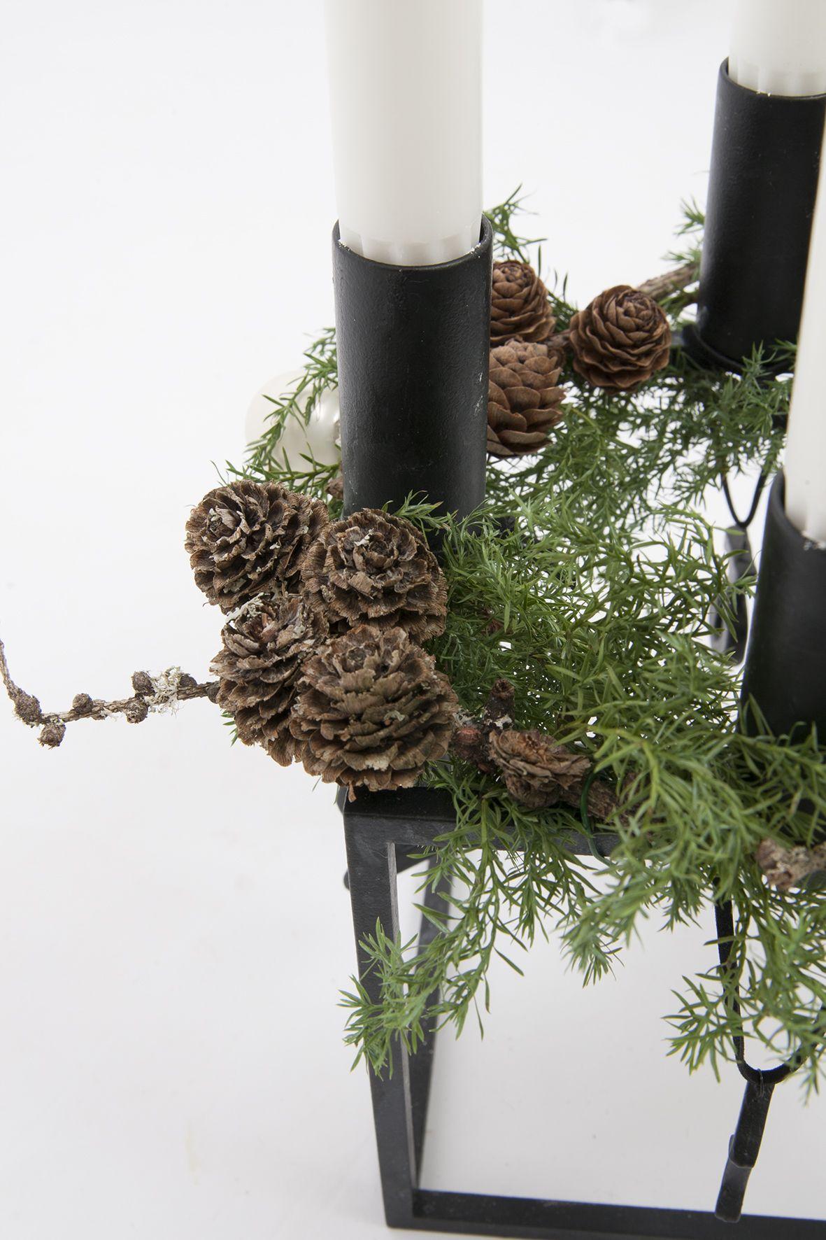 Jeg har lavet årets adventsstage i min smukke Kubus Bowl. Se på bloggen hvordan den er endt med at se ud. #nytårbordpynt