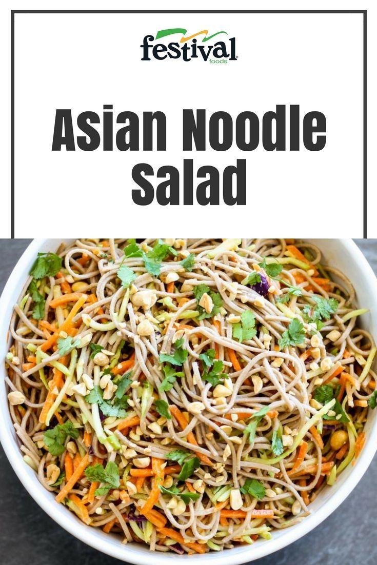 Asian noodle salad recipe in 2020 asian noodles