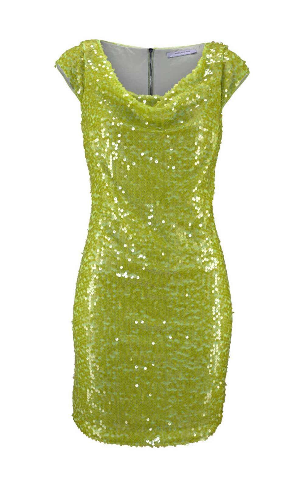 Paillettenkleid, grün von Marc New York  eBay in 18