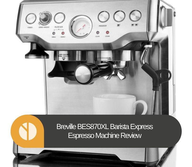 The Breville Barista Express Espresso Machine delivers cafquality