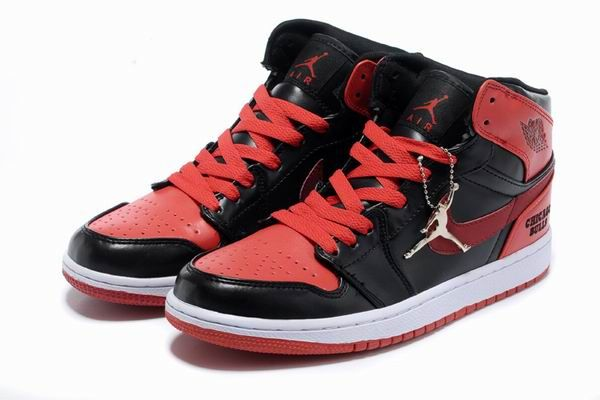 Air Jordan 1 Chicago Bulls Custom 2013 Black Red