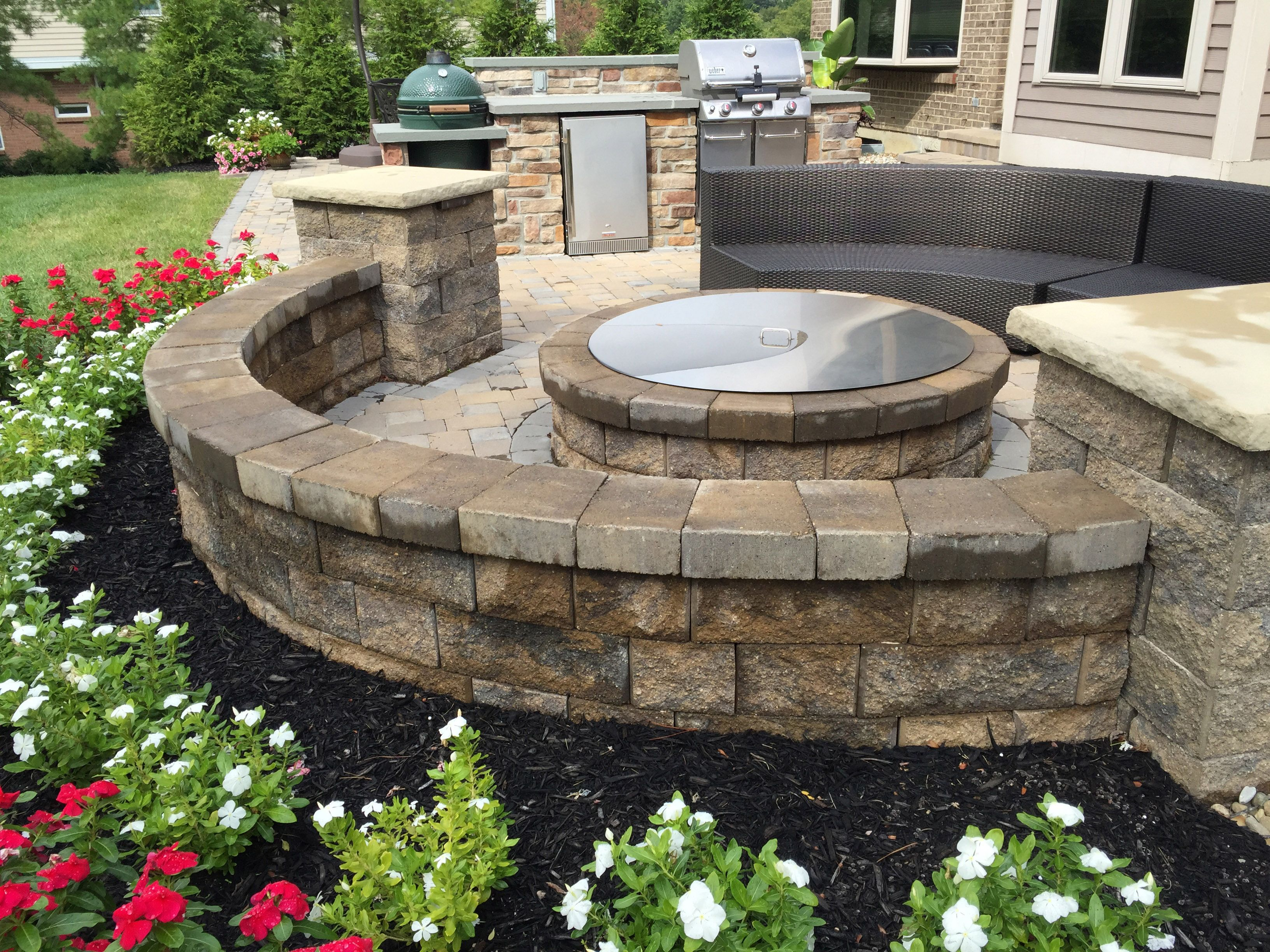 beautiful backyard entertaining with ab courtyard walls on best large backyard ideas with attractive fire pit on a budget id=34972