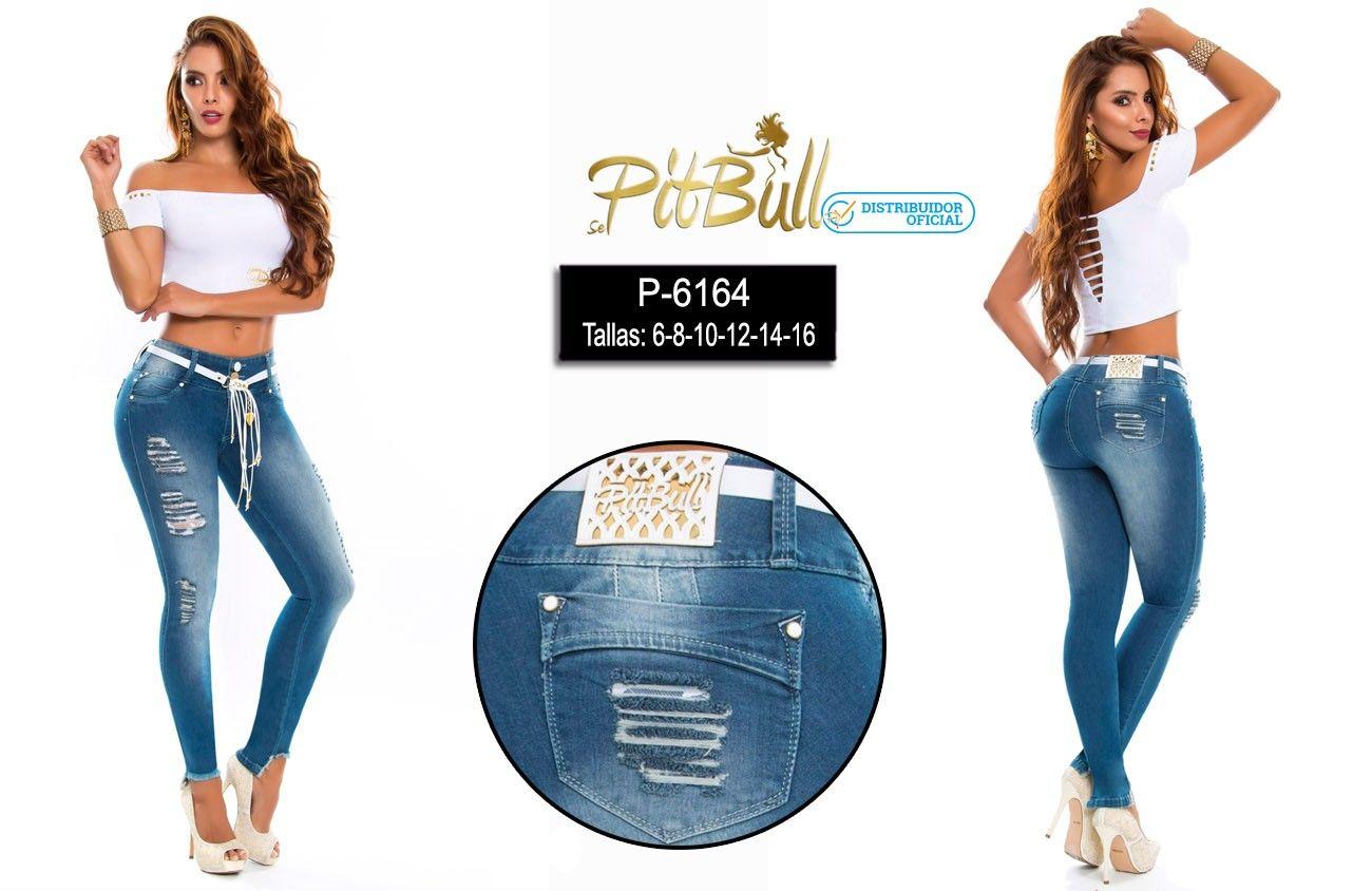 Pantalones Marca Pitbull Levantacola Ajustado Jeans Push Up Vaquero Ropacolombiana Pantalo Pantalones Colombianos Jeans Colombianos Cinturones De Moda