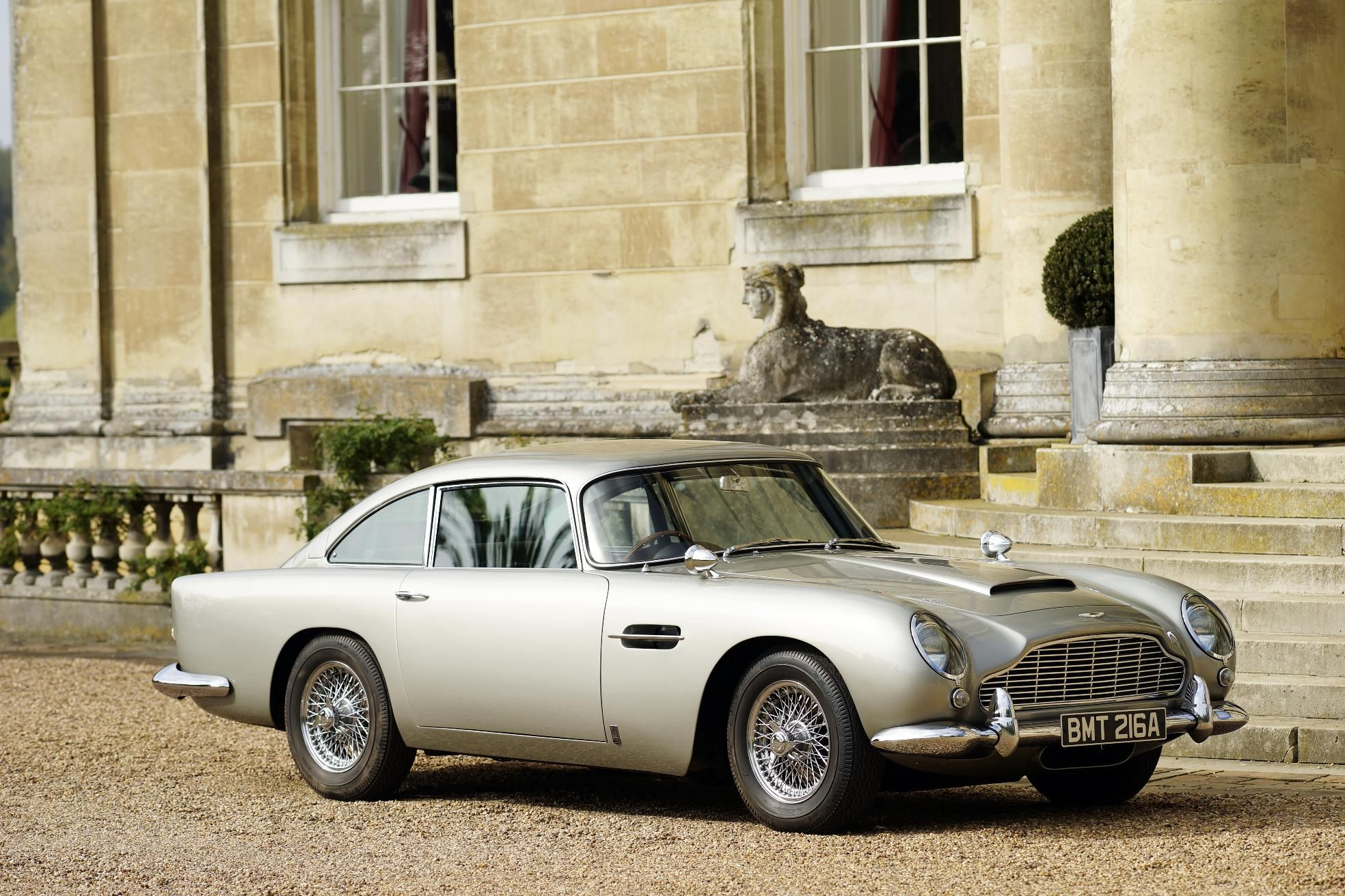 aston martin silver-birch db5; bond car; skyfall | shabby chic