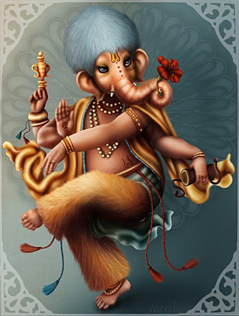 """O elefante remete a imagem de GANESHA, o deus hindu com cabeça de elefante. Deus da sabedoria, da superação e remoção dos obstáculos. Um dos deuses mais cultuados na Índia. Ele abre os caminhos e seu nome significa """"Senhor de todos os Seres""""."""