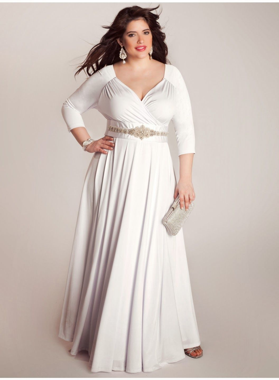 Casual Plus Size Wedding Dresses Httpsimpleweddingstuffspot