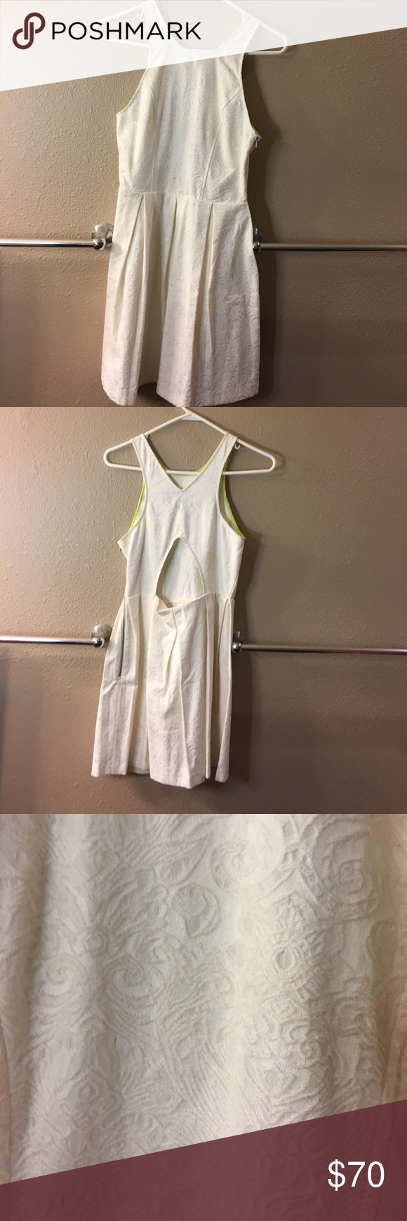 Dolce Vita fit n flare dress Cute cut out in the back and beautiful material! Only worn once so great condition Dolce Vita Dresses Mini