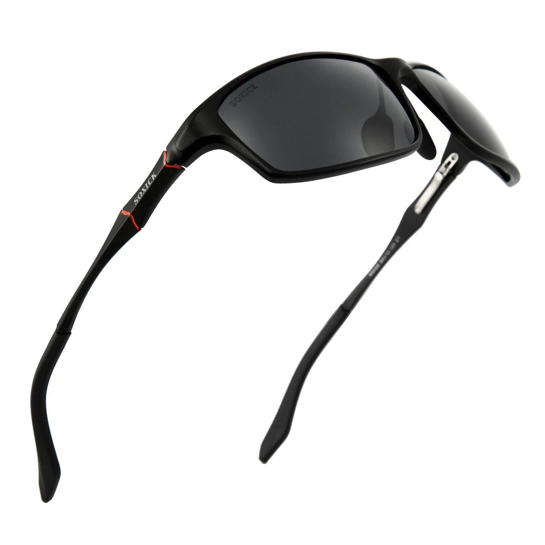 dce59b3c28 Polarized Sunglasses w  UV Protection Fishing Fitness Cycling Driving -  Black-1 - CS182IO9RCG-Women s Sunglasses