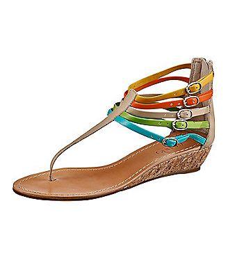 Via Uno Sandaletten | sandals flat | Shoes, Sandals, Fashion