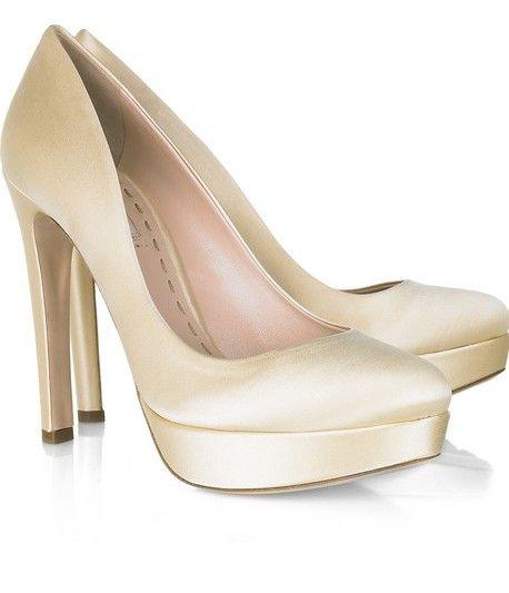 de color perla - miu miu | zapatos de novias y acompañantes