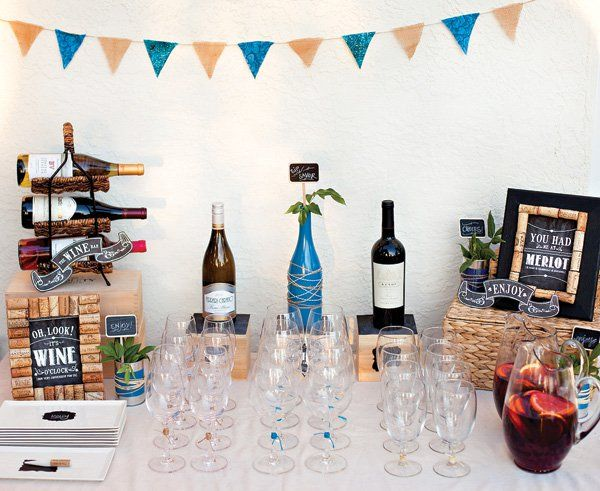 Rustic Wine And Cheese Party 500 Package Giveaway