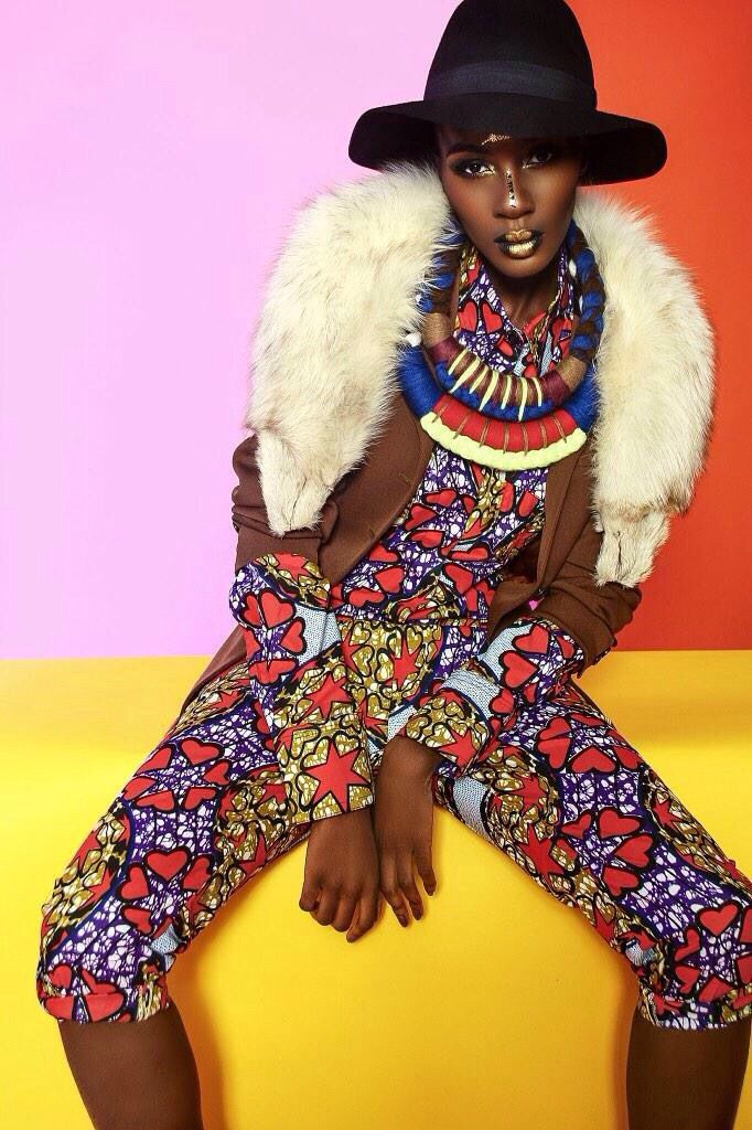 Destiny Owusu featured in TXTURE Magazine African Style