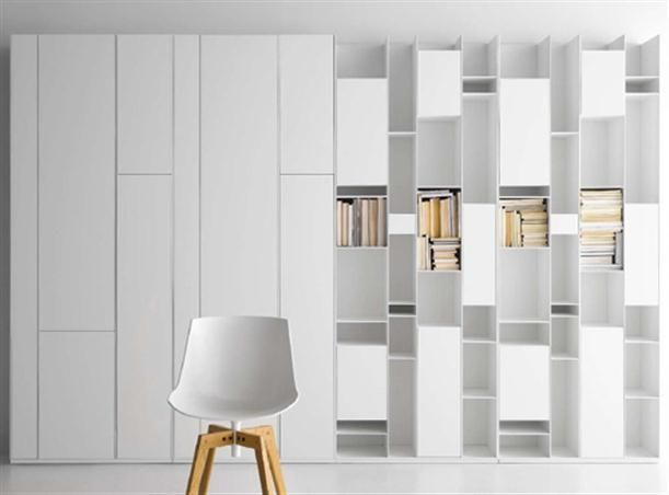 Wonderful Library Bookcase   Luxury Wall Storage Innovation Design For The Modern  Library Gallery