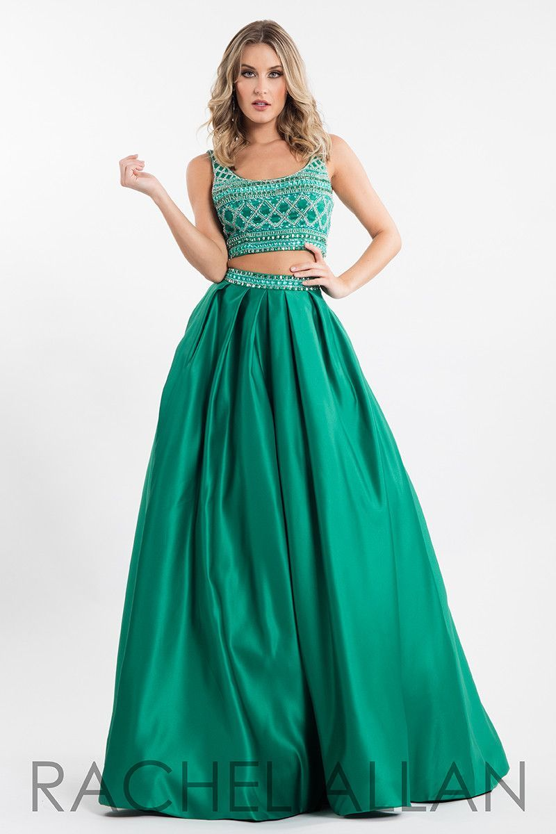 Rachel Allan 7505 Emerald Ball Gown Prom Dress | Prom | Pinterest ...