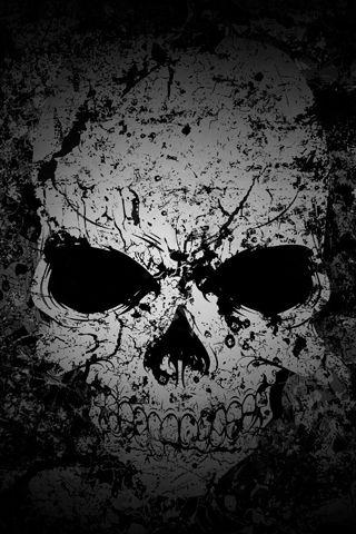 Cherep Oboi Dlya Iphone 5 4 4s 3 3g 3gs Skull Art Skull Wallpaper Art