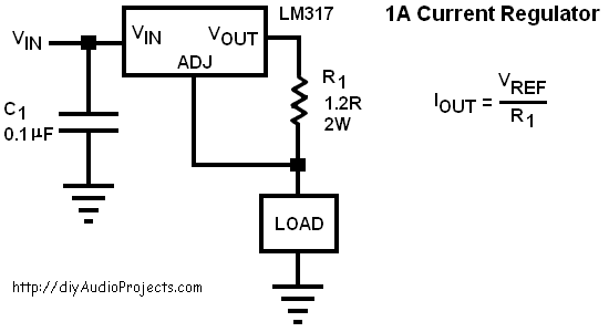 lm350 voltage regulator calculator electronic projects circuits