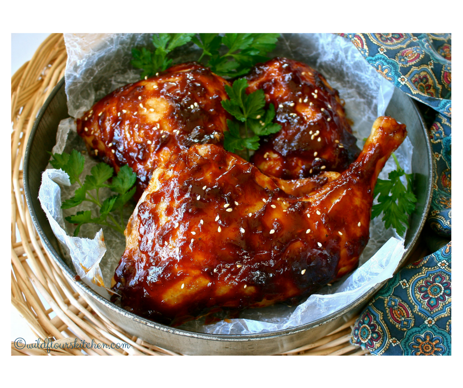 Easy Chinese Oven Barbecued Chicken