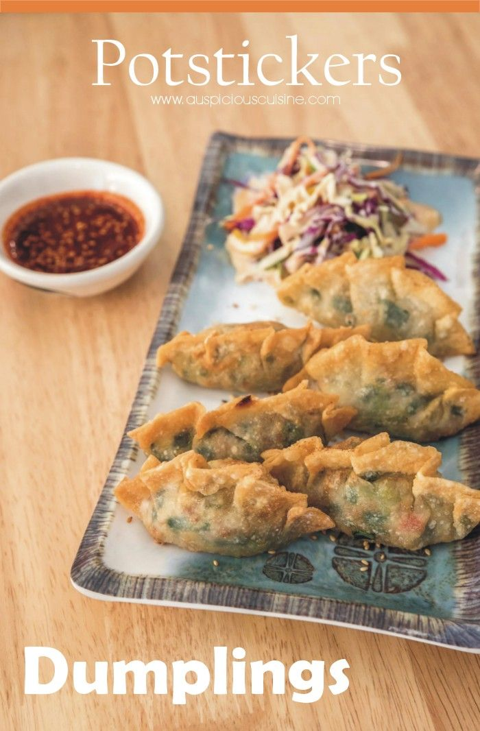 Potstickers dumplings recipe ground beef recipes and chinese it is an authentic potsticker recipe using ground shrimp and ground beef for filling lets forumfinder Images