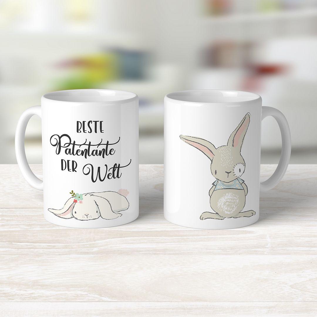 Kaffeetasse Beste Patentante | Geschenk für paten