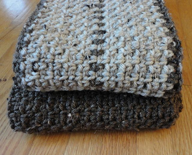Free Pattern] Super Fast Men\'s Scarf | Pinterest | Para hombres ...