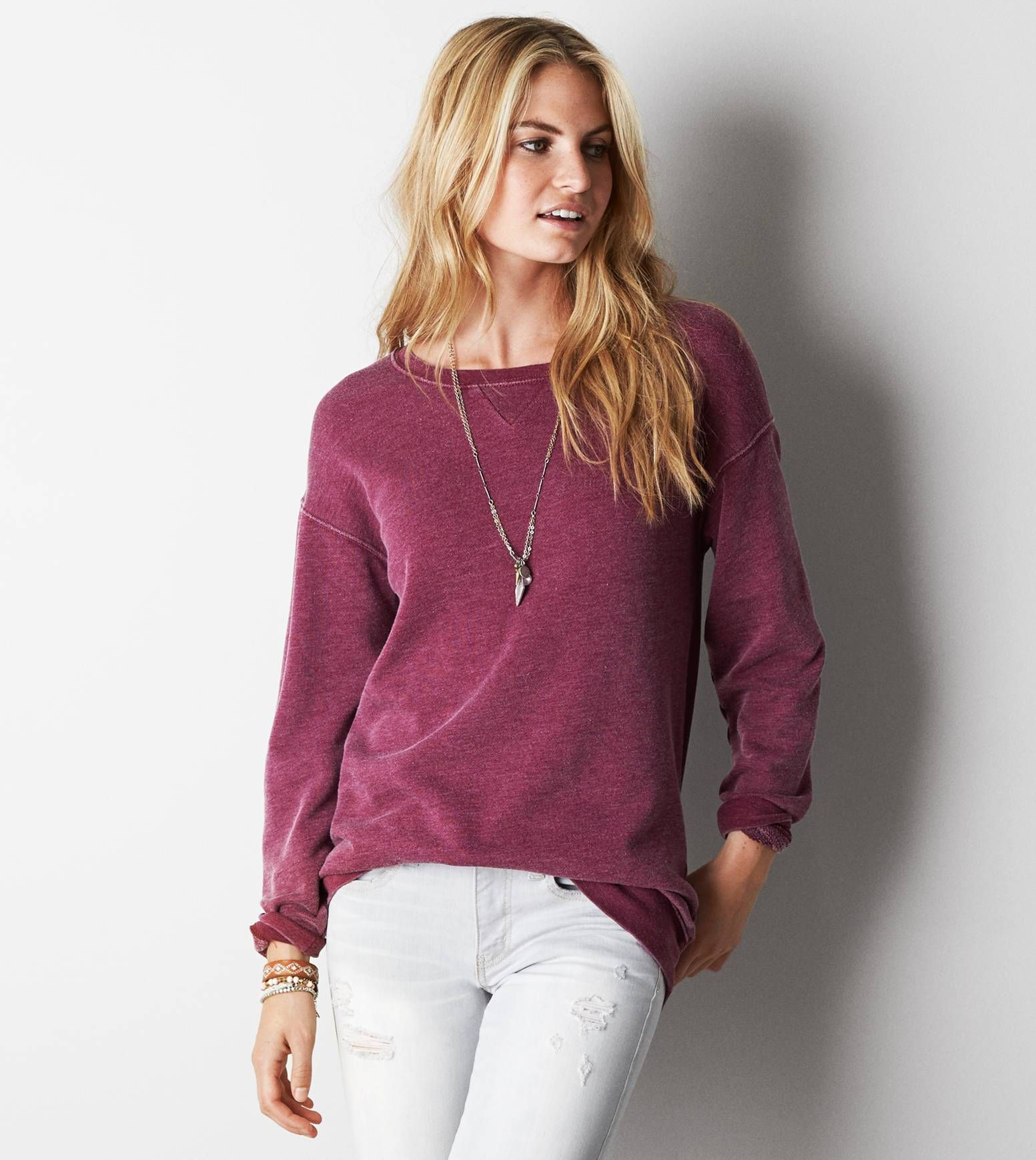 Jegging sweatshirt
