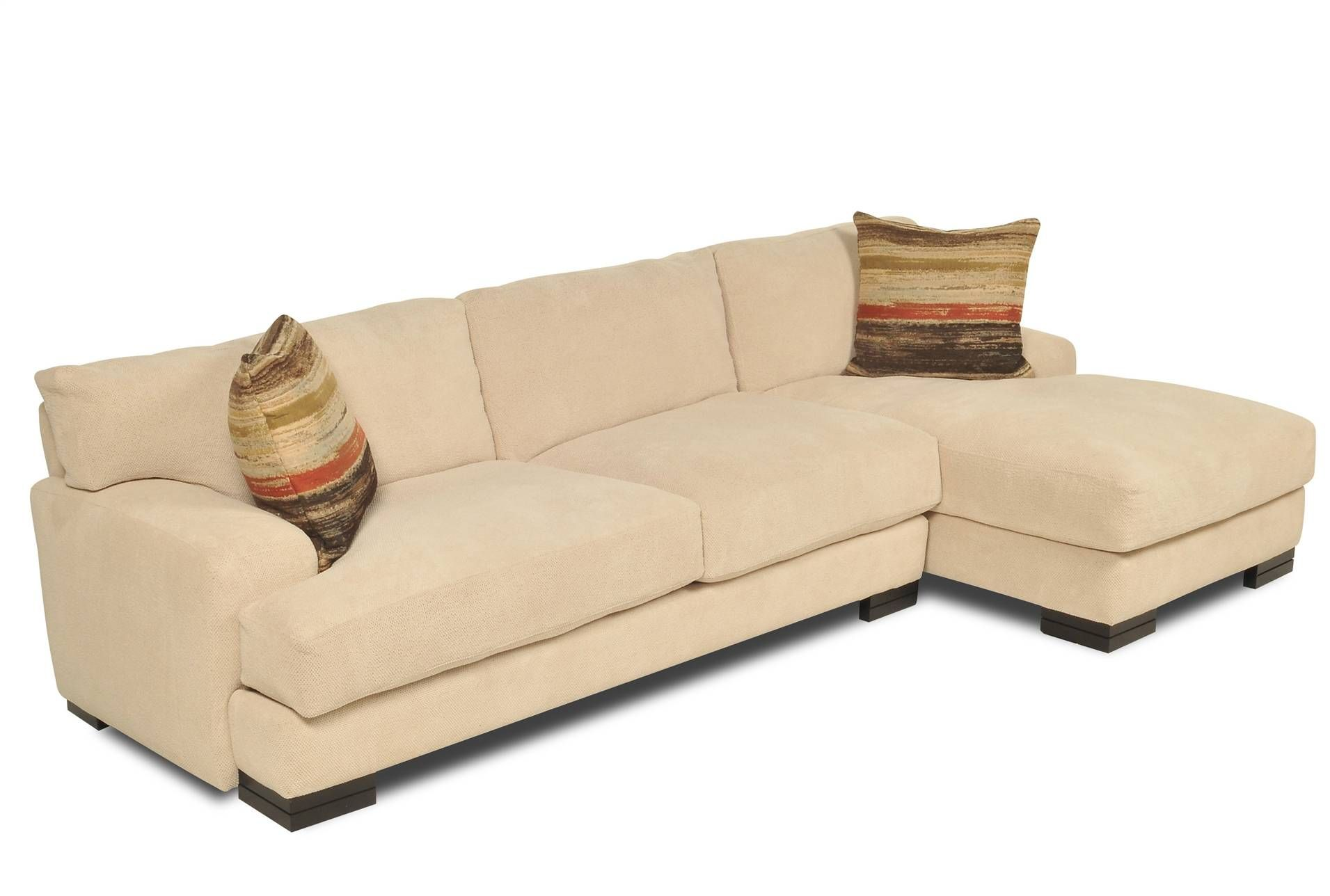 Living Spaces Rauley 2 Piece Sectional $1395 but in Minx not