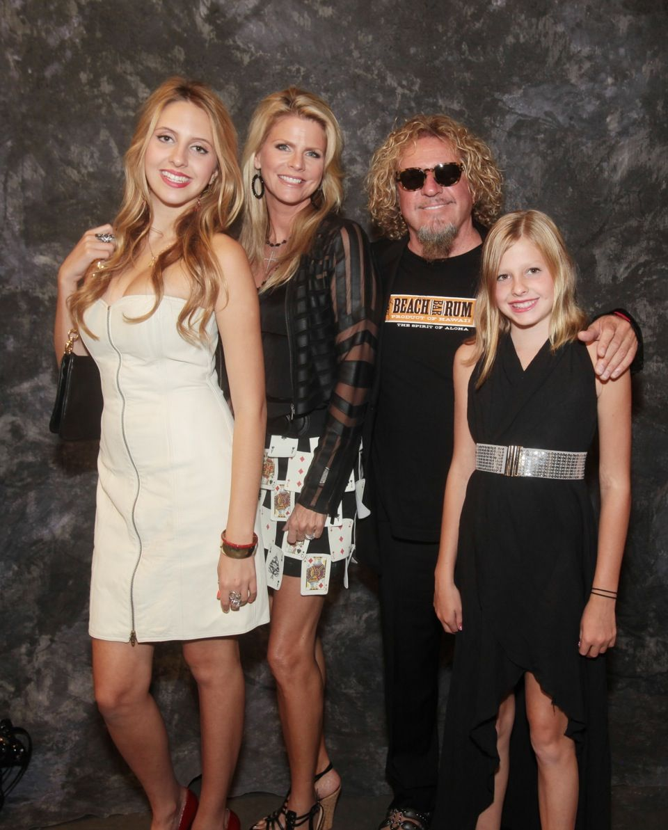 Sam and his girls 2012