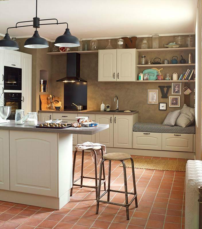 Meuble De Cuisine Delinia Composition Type Oleron Chanvre Home Decor Kitchen Kitchen Decor Home Kitchens