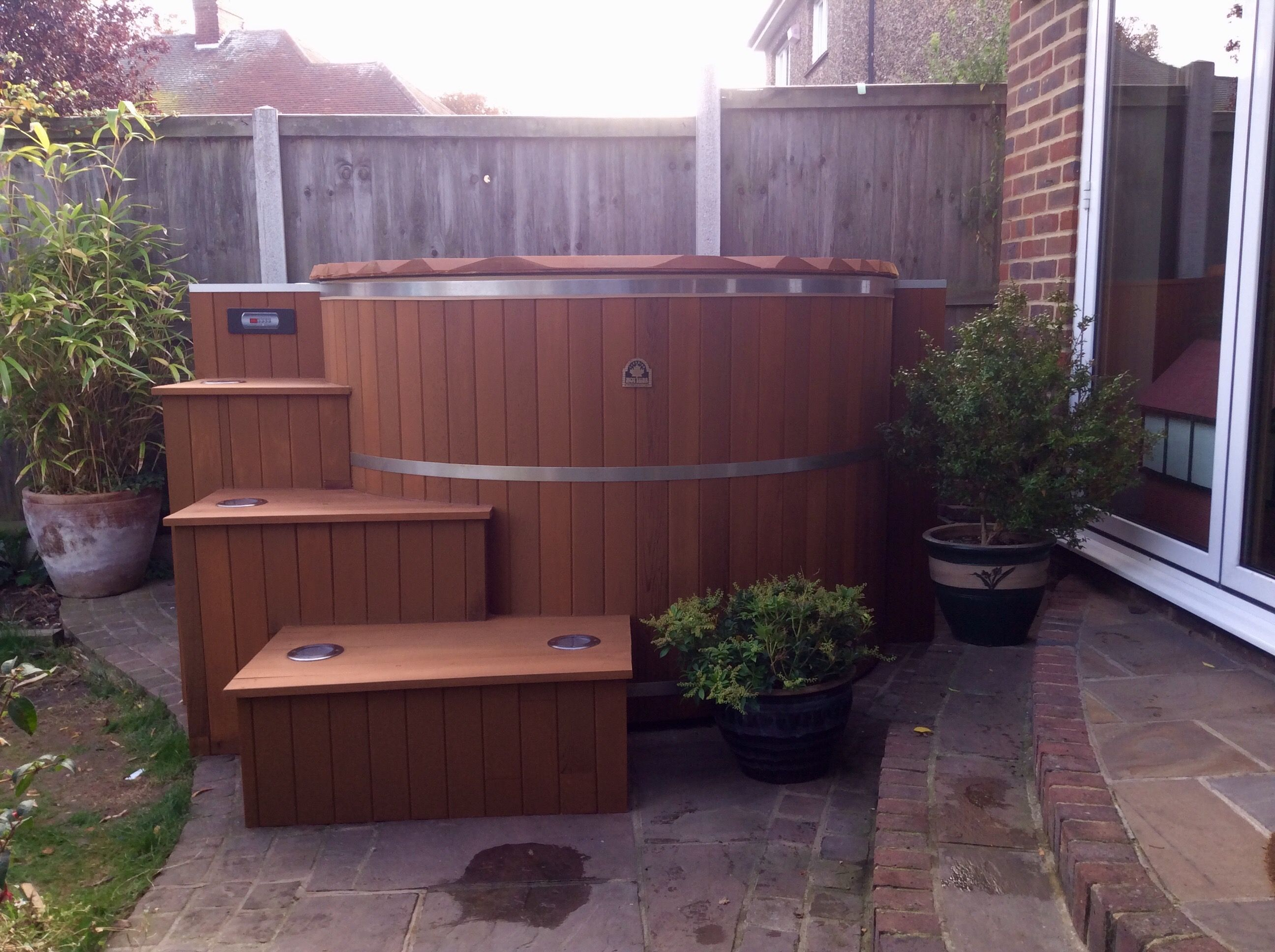 Our Cedar Hot Tub Kits Are Assembled Onsite, Allowing Them