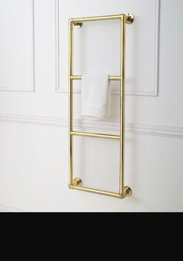 Clic Gold Heated Towel Rail 111gg
