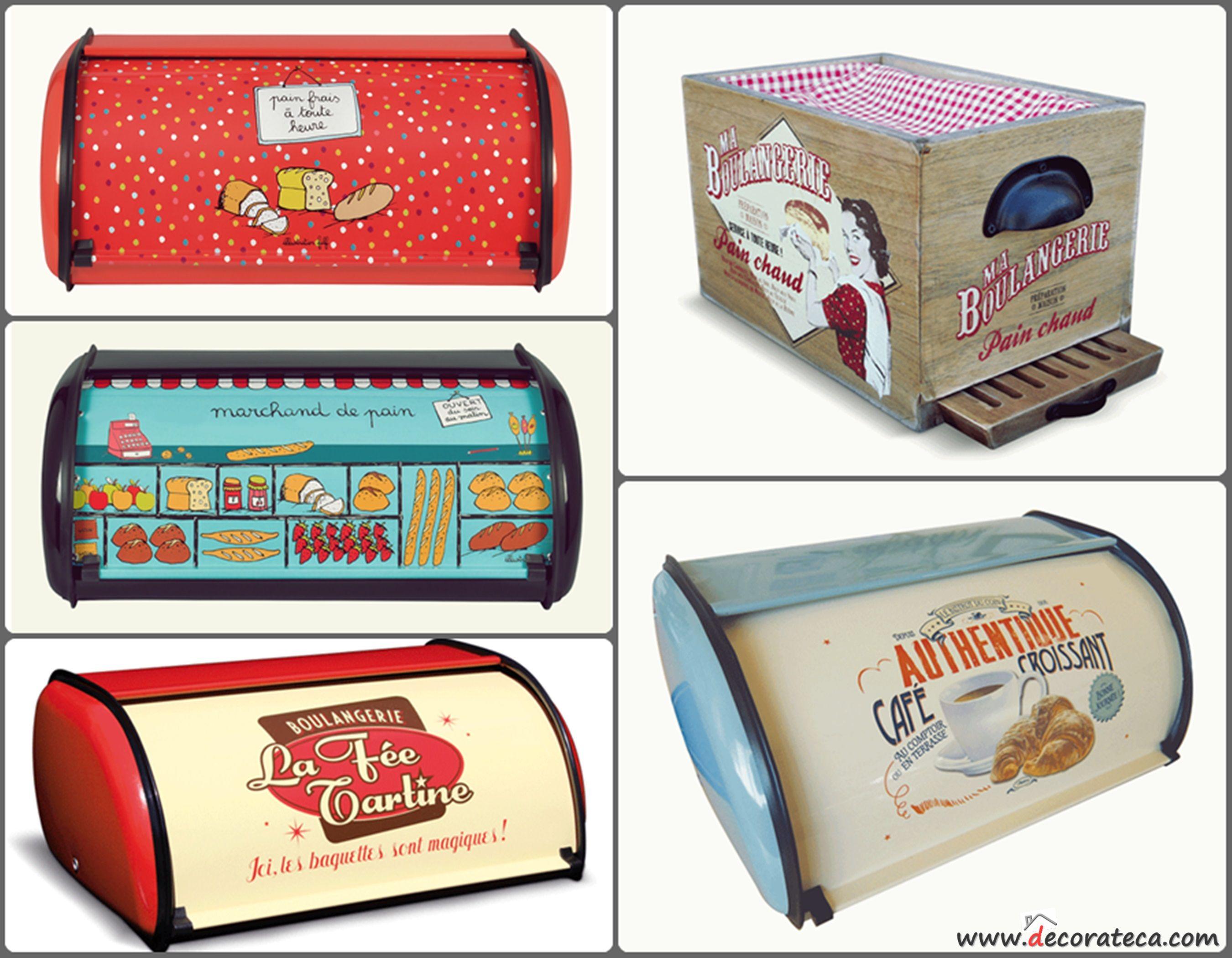 Paneras originales vintage modernas divertidas retro - Cocinas con encanto ...