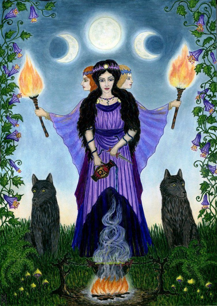 Hecate by AnnaIceflames on deviantART