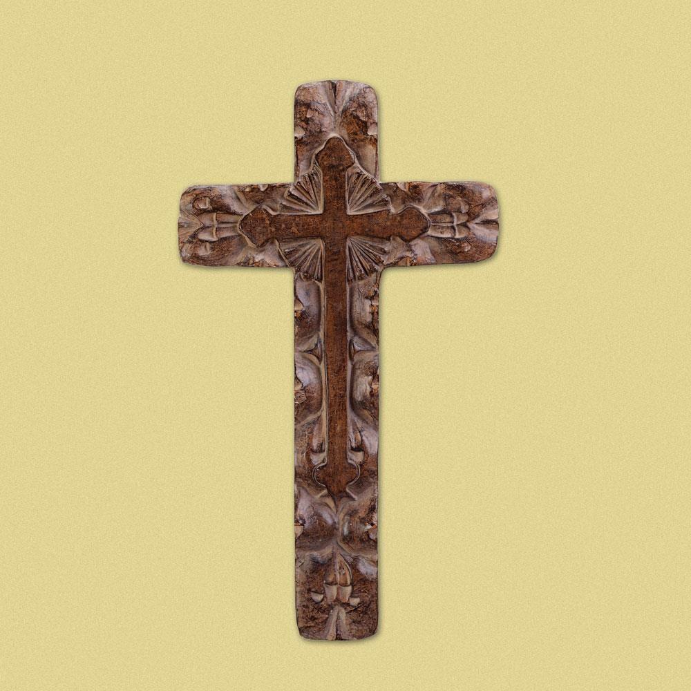 Stunning Rustic Cross Wall Decor Photos - The Wall Art Decorations ...