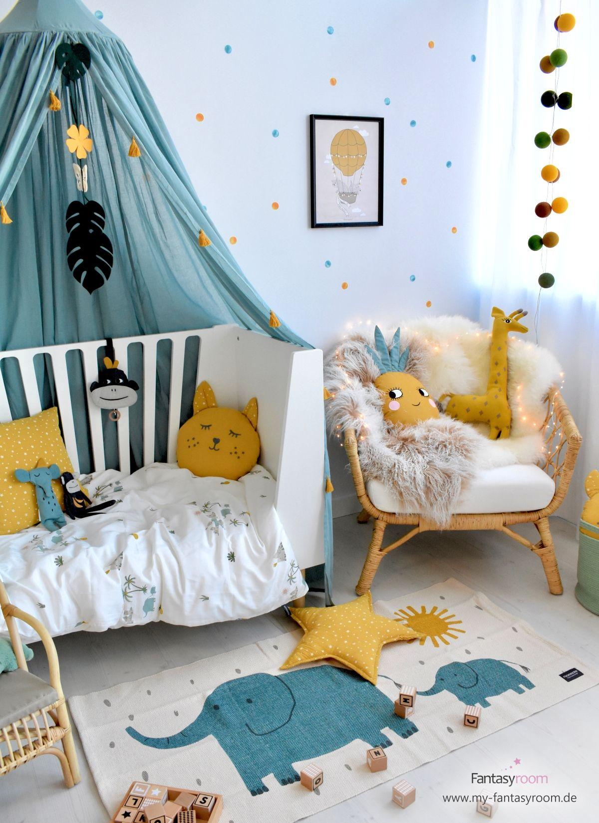 Tropic-Look für Kinderzimmer