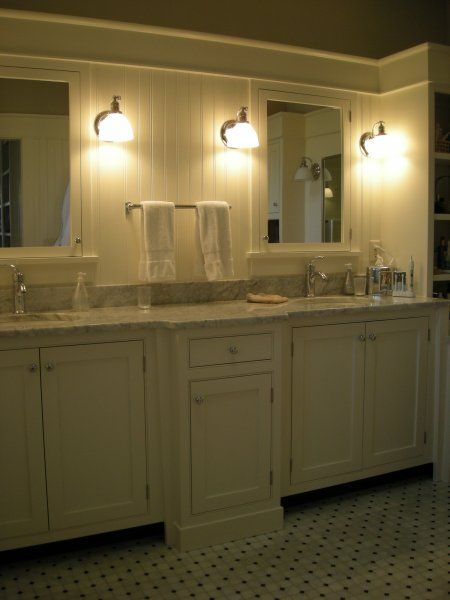 Beautiful Bright Bathroom Sink Marble Cabinets Beadboard Bathroom Large Bathroom Sink Bathrooms Remodel