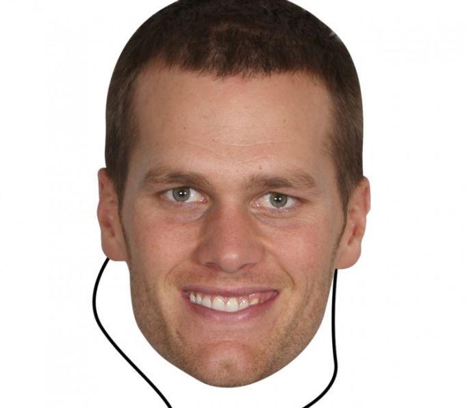 New England Patriots Tom Brady Bleacher Mask - $11.99
