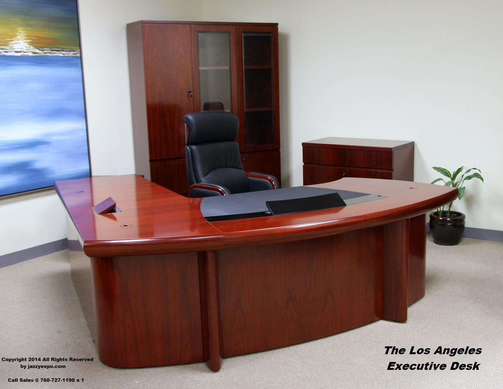 angeles modern los panels front open pin the port data view executive desk