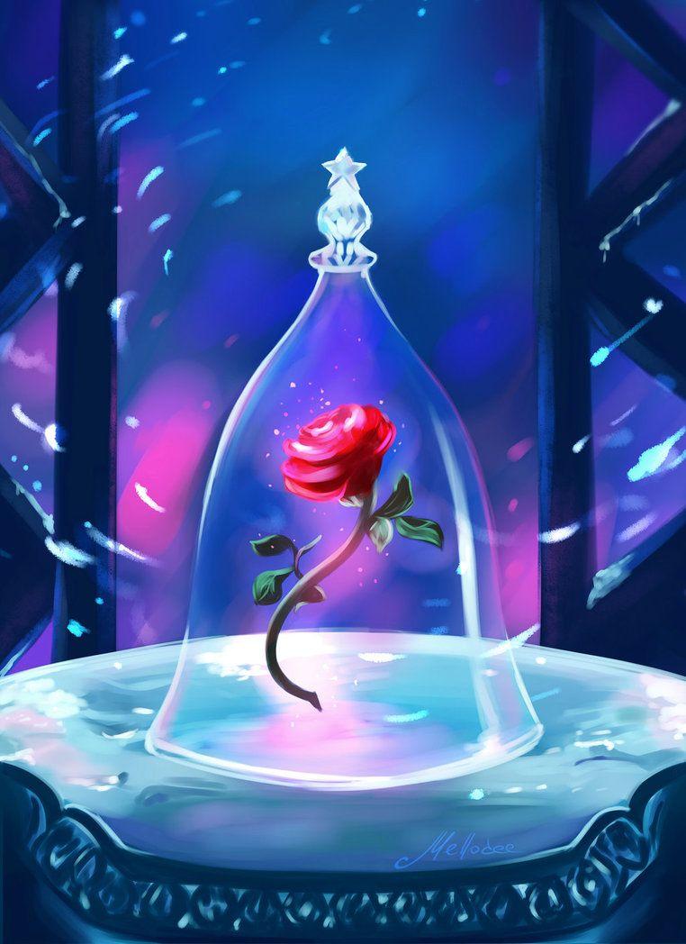 Enchanted Rose By Mellodee Deviantart Com On Deviantart Enchanted Rose Disney Art Disney Fan Art