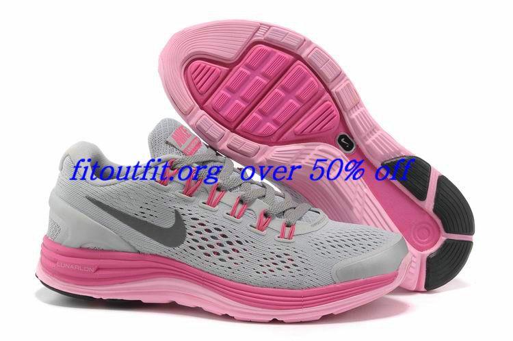 ec21514de56b ... inexpensive rp5lye womens nike lunarglide 4 grey pink silver running  49.79 nike lunar running shoes 9b9f1