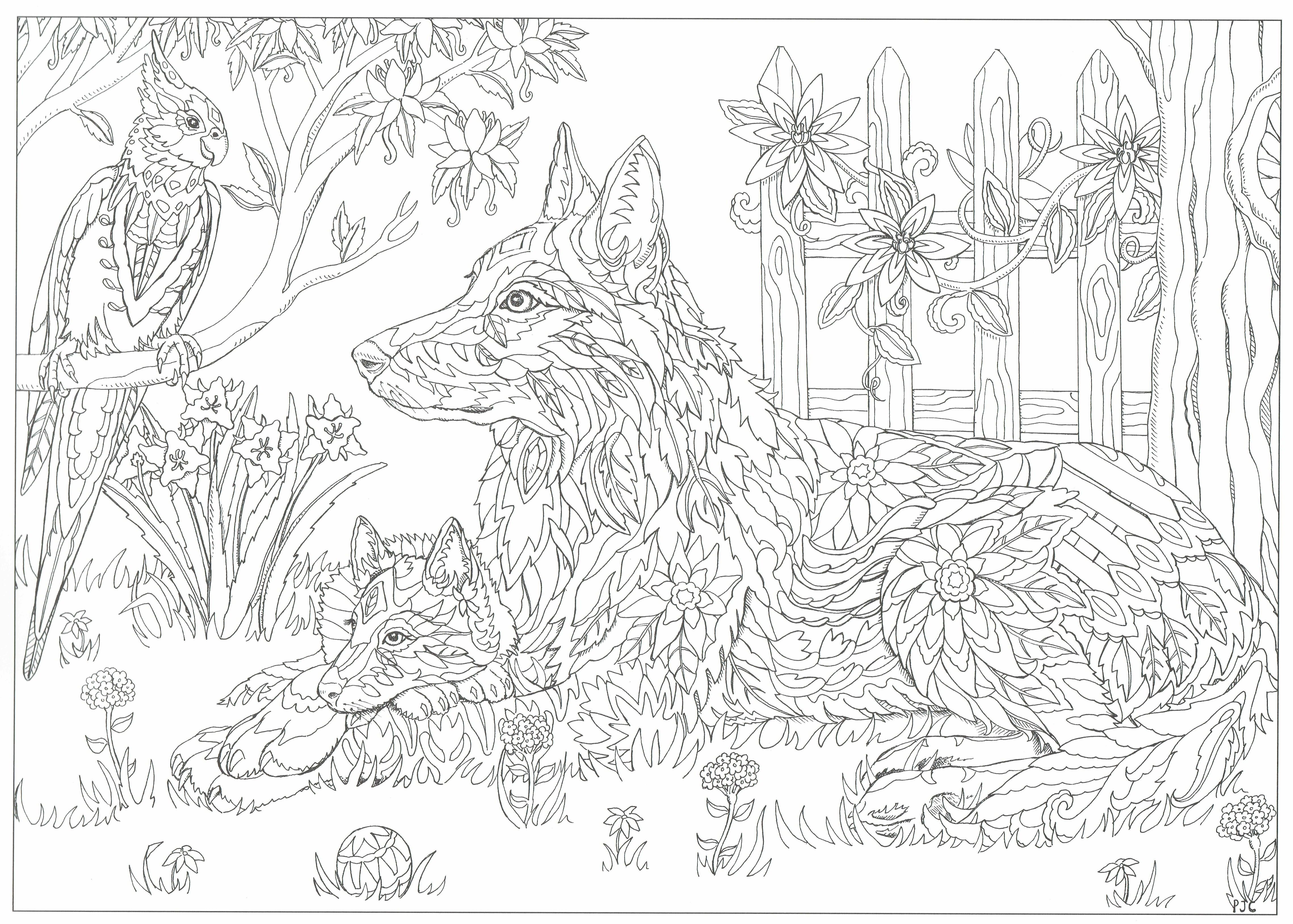 this will print on 11x17 just as nice as 8.5x11 | adult coloring